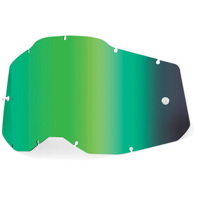 100% Anti-Fog Replacement Lenses Gen2 Youth, verde
